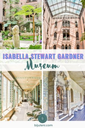 Everything you need to know about visiting Boston's Isabella Gardner Museum. Why it should be on your list of places to visit when in Boston, and what makes it so much interesting than your typical museum visit.