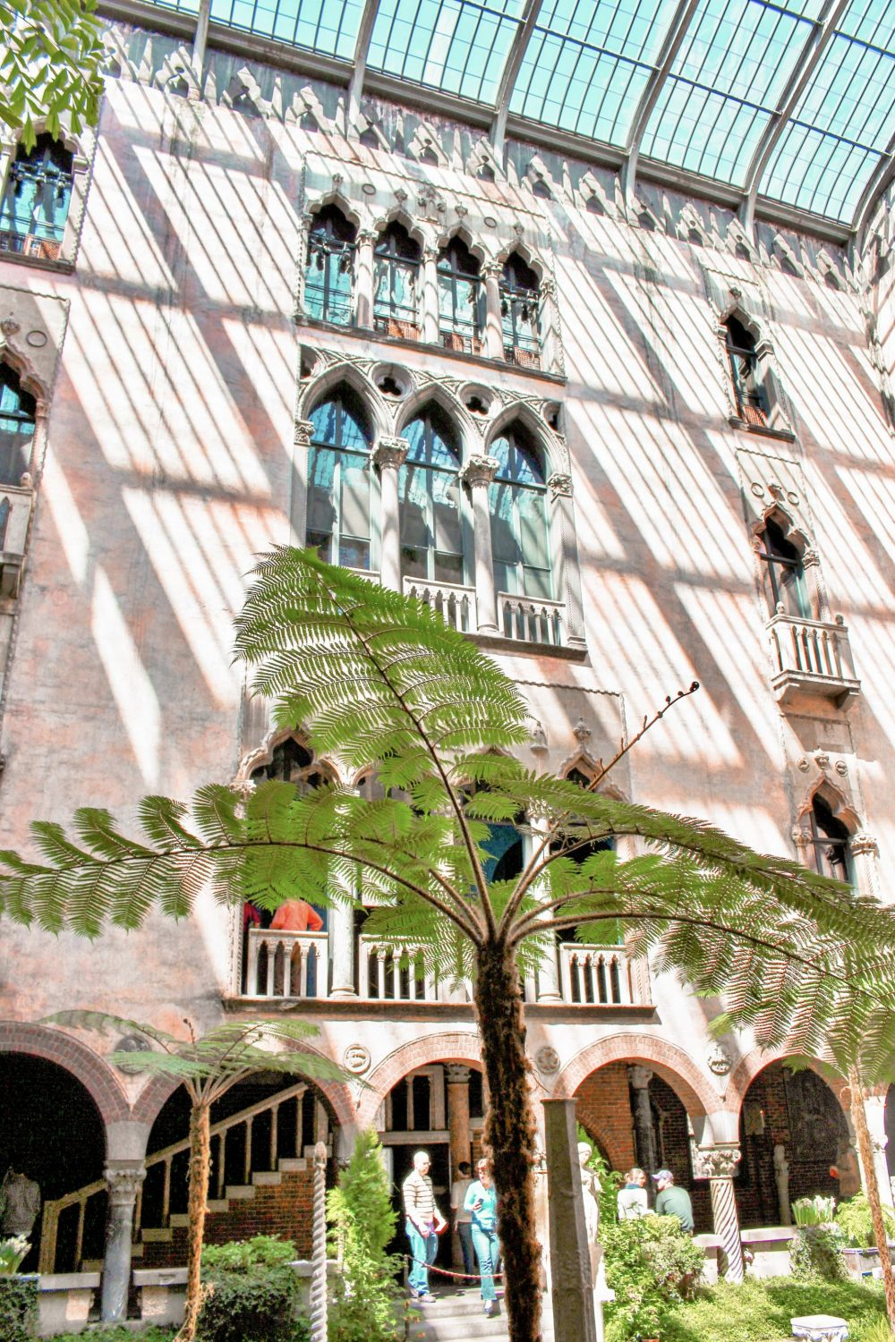 The palm courtyard is one of the main reasons why you should visit Isabella Gardner Museum. This place will take your breathe away with its eccentric art and its unique take on what a museum is.