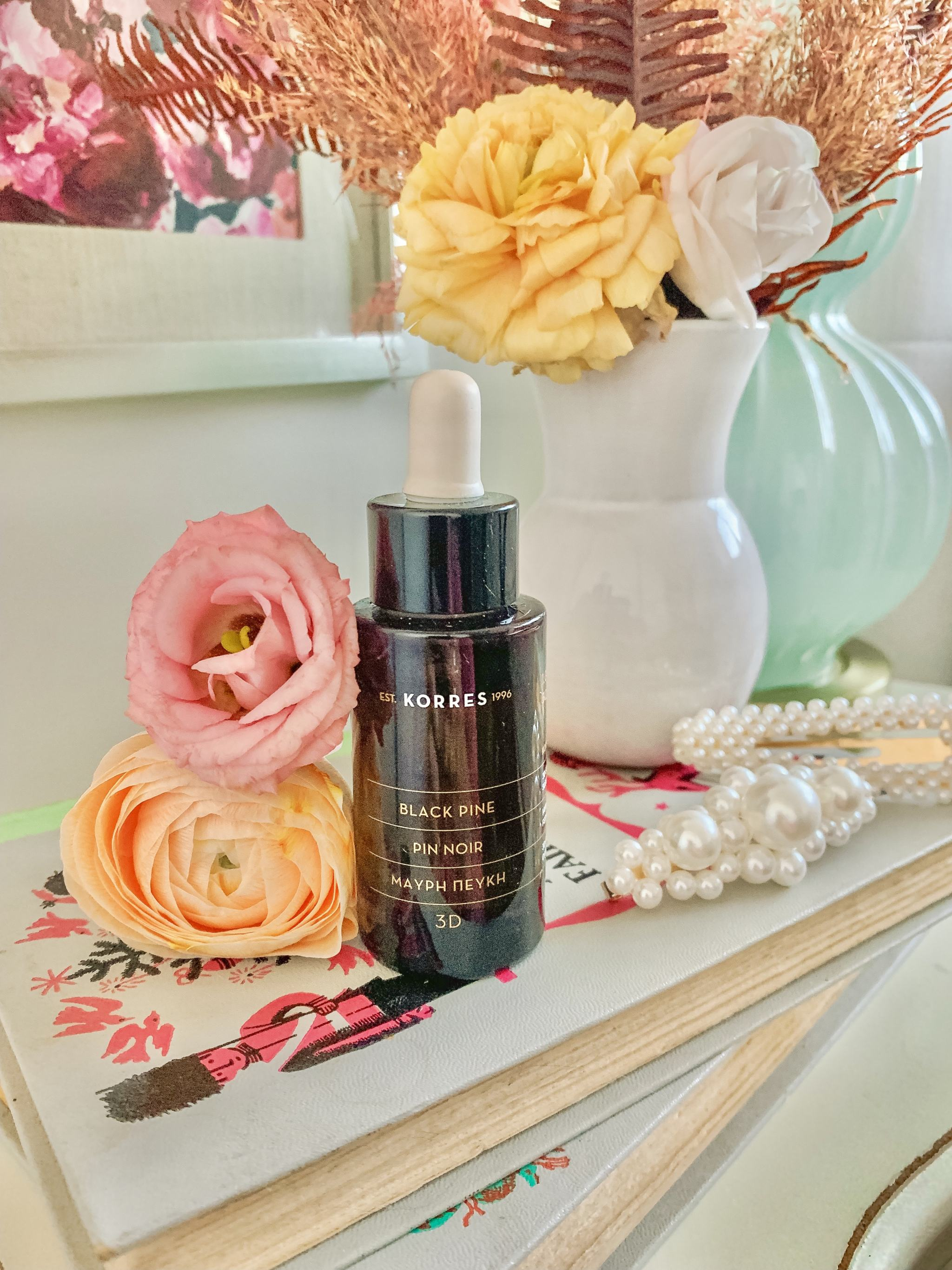 Bijuleni - 5 Products that Rejuvenate Skin Overnight-Korres Black Pine 3D Sculpting & Firming Sleeping Oil Review