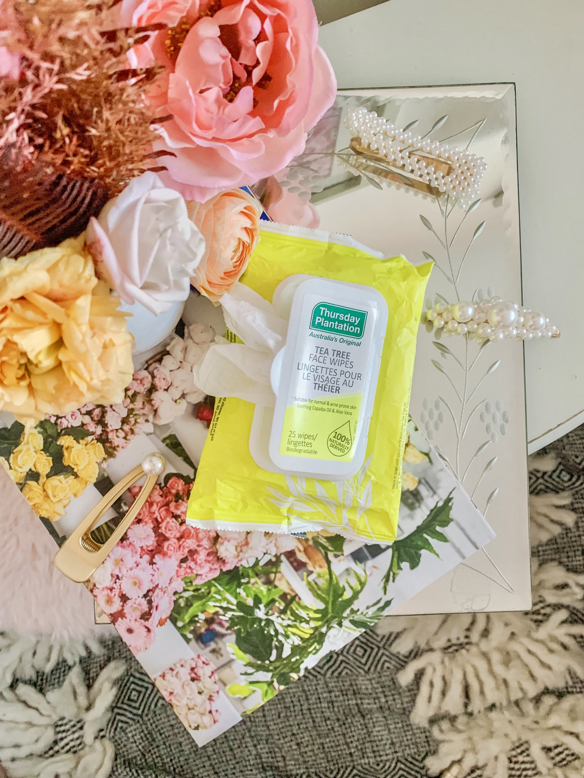 Bijuleni - 5 Products that Rejuvenate Skin Overnight - Thursday Plantation Facial Wipes