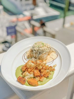 Bijuleni- Seafood Dish at Wicked Tuna Restaurant