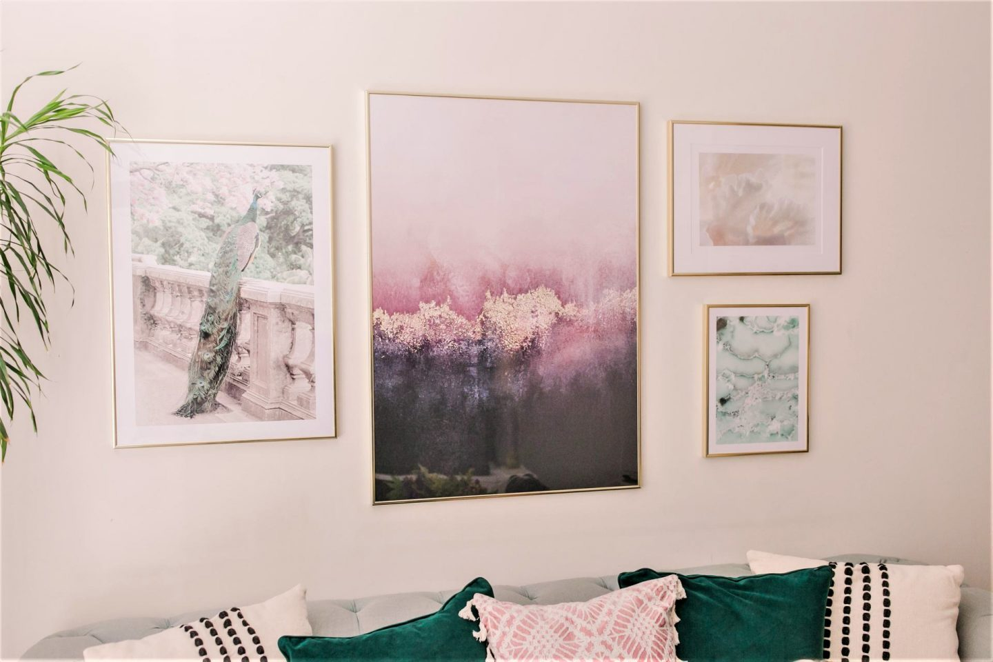 Quick and easy ways to update your living room with a Poster Store Gallery Wall