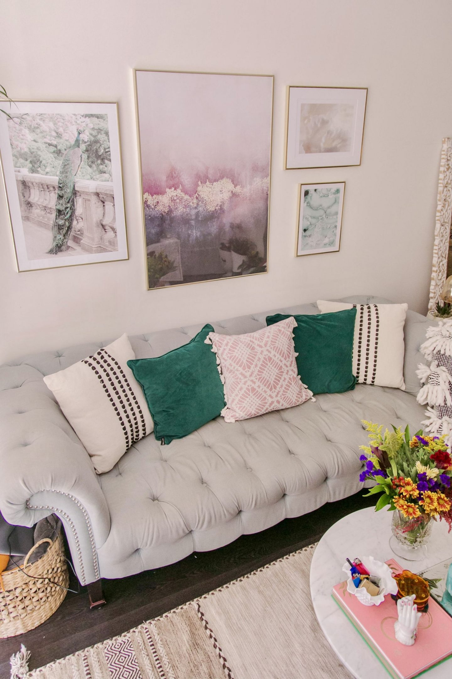 Quick and easy ways to update your living room while being on a budget