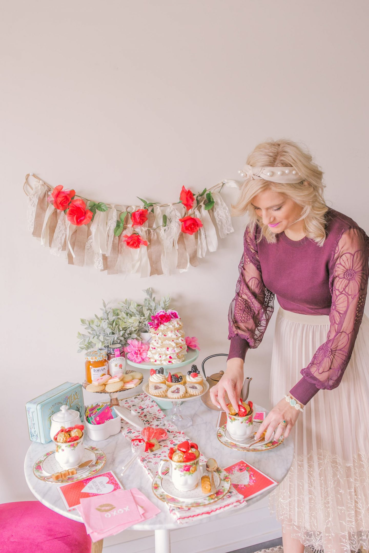 How to host a Valentine's Day Afternoon Tea Party