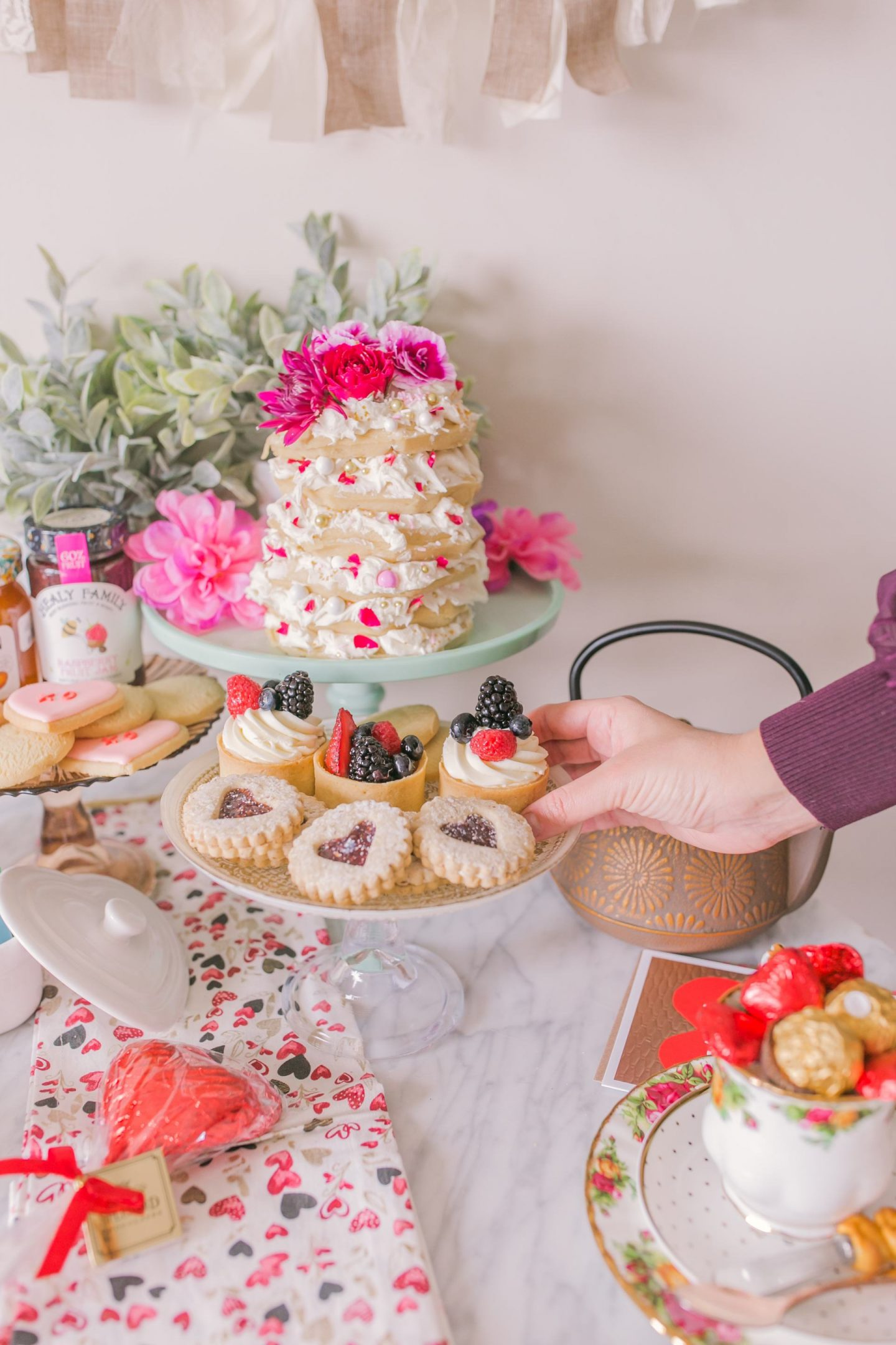 Valentine's Day Afternoon Tea and Desserts Party