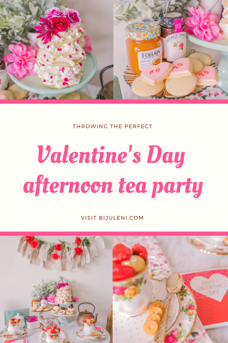 Valentine's Day Afternoon Tea Party