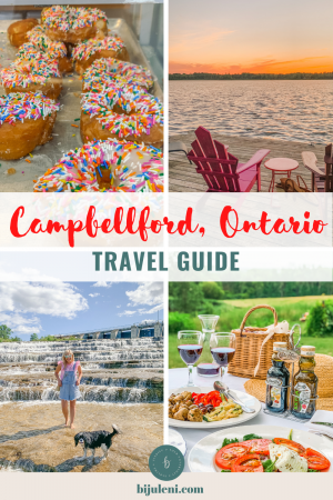 Travel Guide for Campbellford, Ontario everything you need to know about your summer cottage getaway with the family
