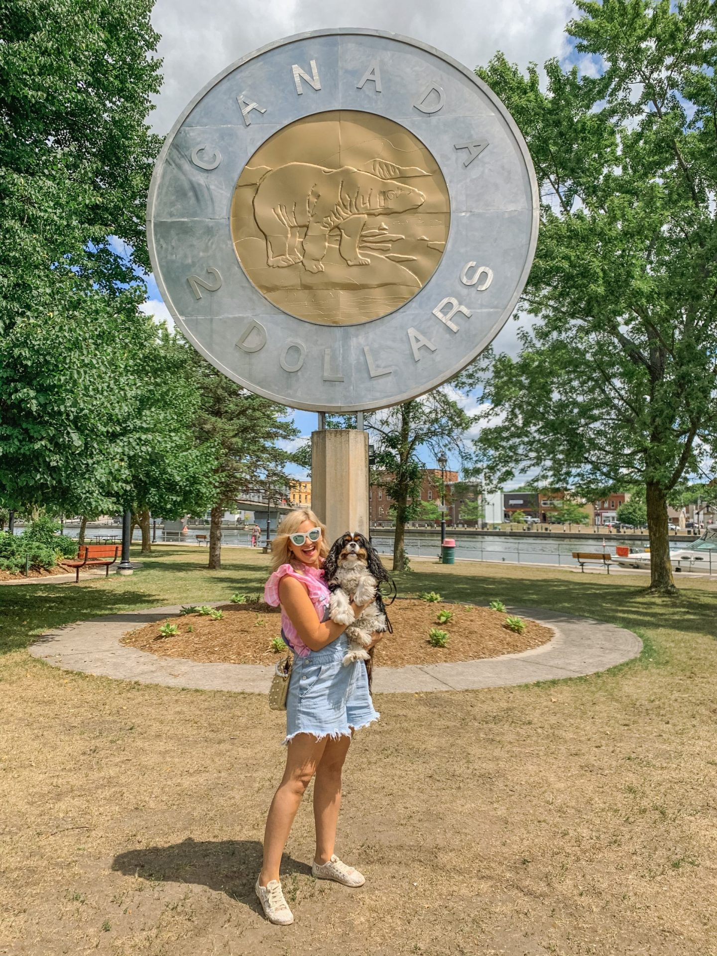 Things to see in Campbellford in Northumberland County include the famous Tooney Statue