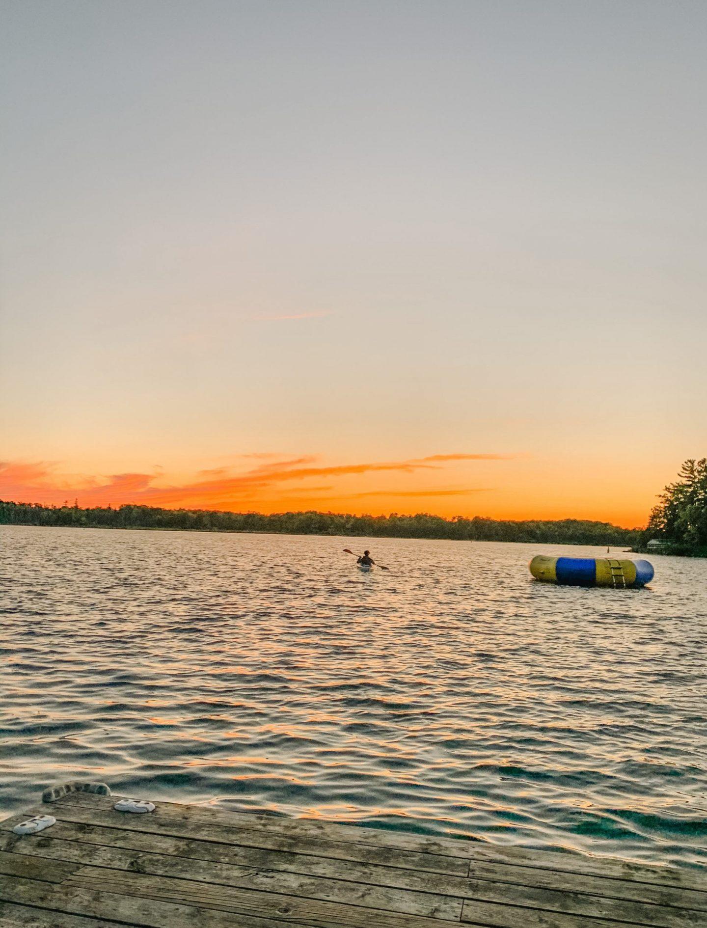 Kayaking at Waterways of Northumberland County