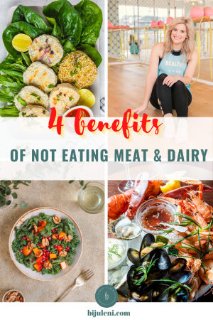 Sharing all the changes my body went through when I stopped eating meat and dairy.