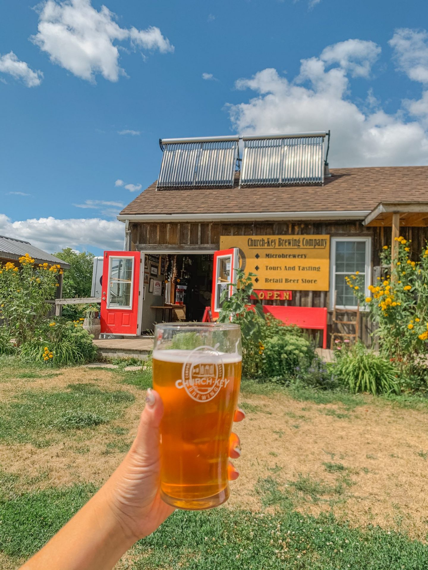 Must visit Church Key Microbrewery in Northumberland